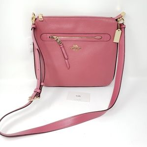 Brand New Coach Leather Crossbody Bag